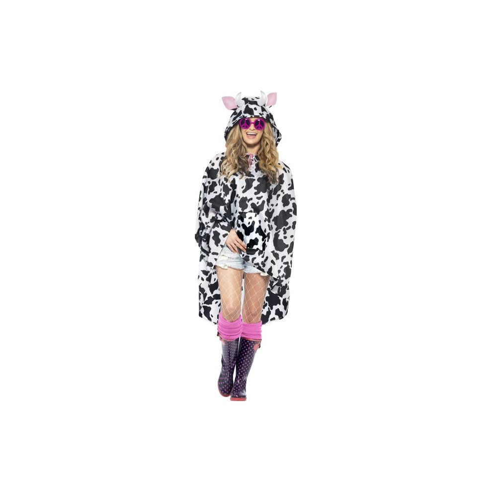 ACCESSORIES/COATS/poncho adults Cow