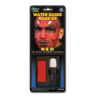 MAKEUP/FACE & BODY PAINTS/ WATER BASED RED FACE PAINT