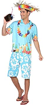 MENS/COUNTRIES/HAWAIIAN SET TOP AND TROUSERS