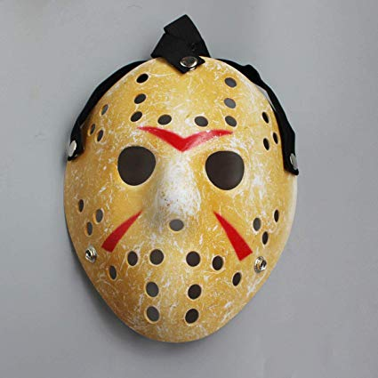 Accessories/Halloween/Masks/Jason Mask (Friday 13th) - White