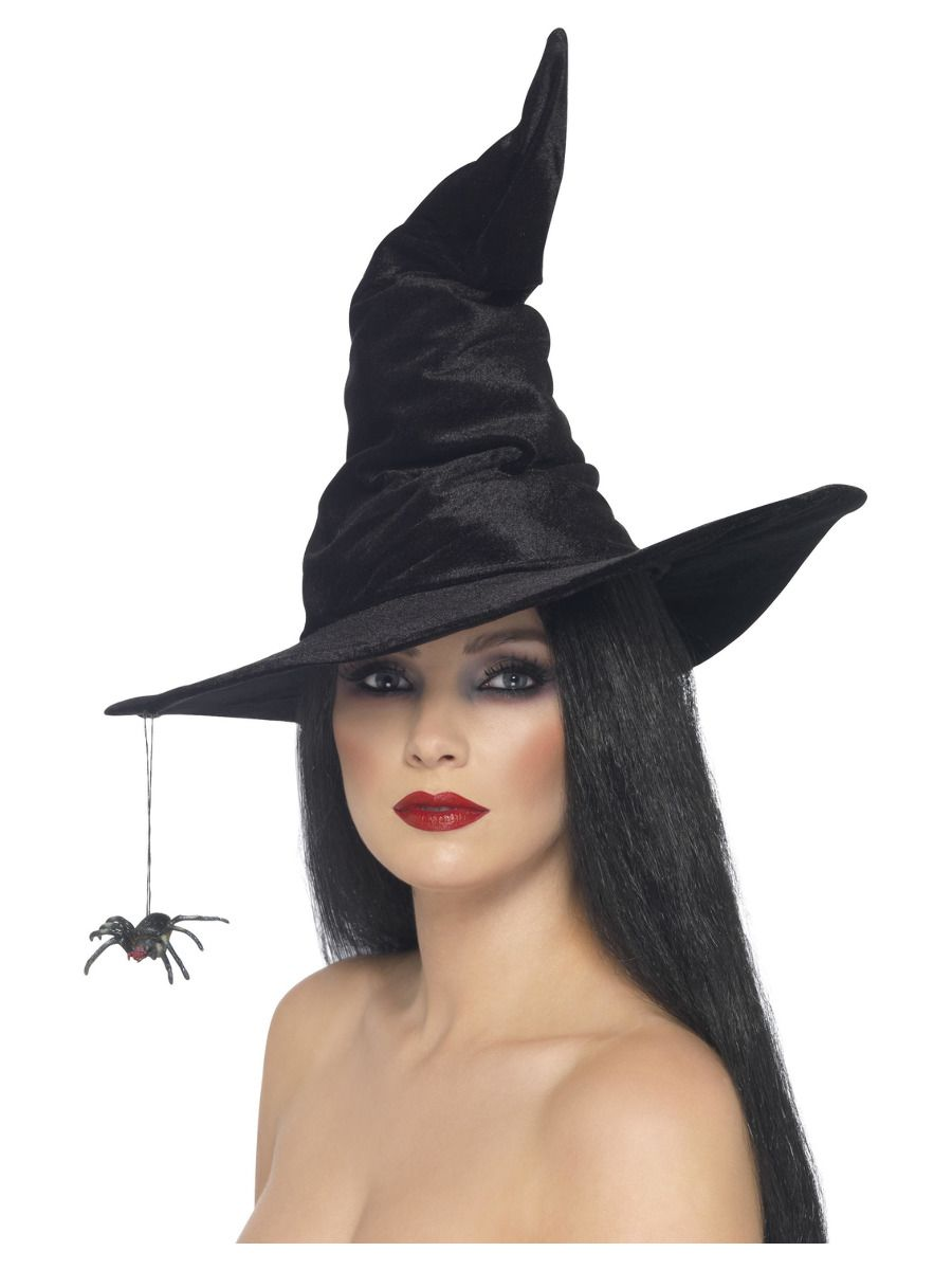 ACCESSORIES/HALLOWEEN/PROPS/Witch Hat, Black