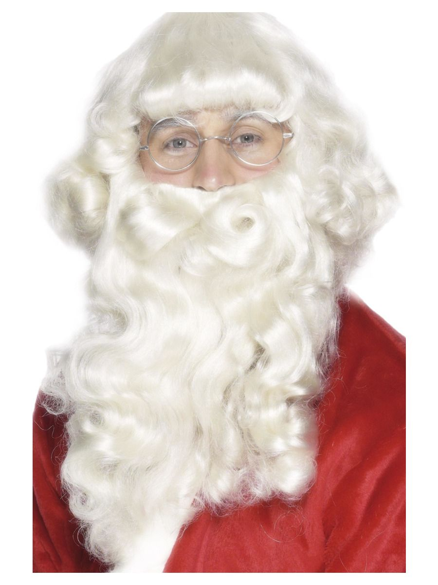 ACCESSORIES/CHRISTMAS/SANTA WIG & BEARD SET