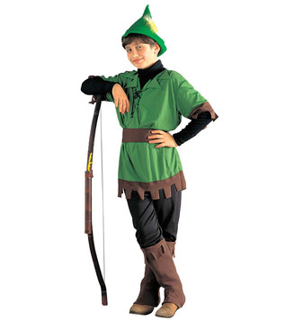 BOYS/TV & FILM/ROBIN HOOD (coat pants belt boot covers hat) Childrens
