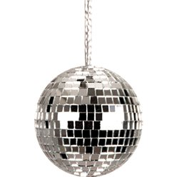 ACCESSORIES/JEWELLERY/70'S DISCO BALL NECKLACE