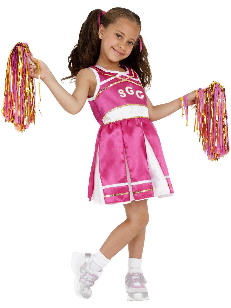 GIRLS/UNIFORMS/Cheerleader Costume, Child, Pink