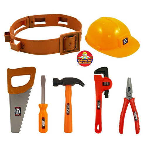 ACCESSORIES/PROPS/ Tool Set and Hat