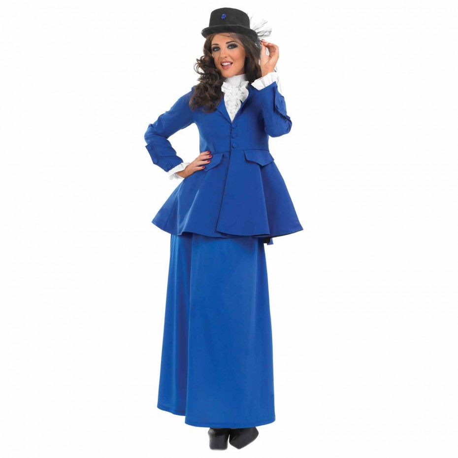 WOMAN/TV & FILM/WOMENS VICTORIAN NANNY COSTUME
