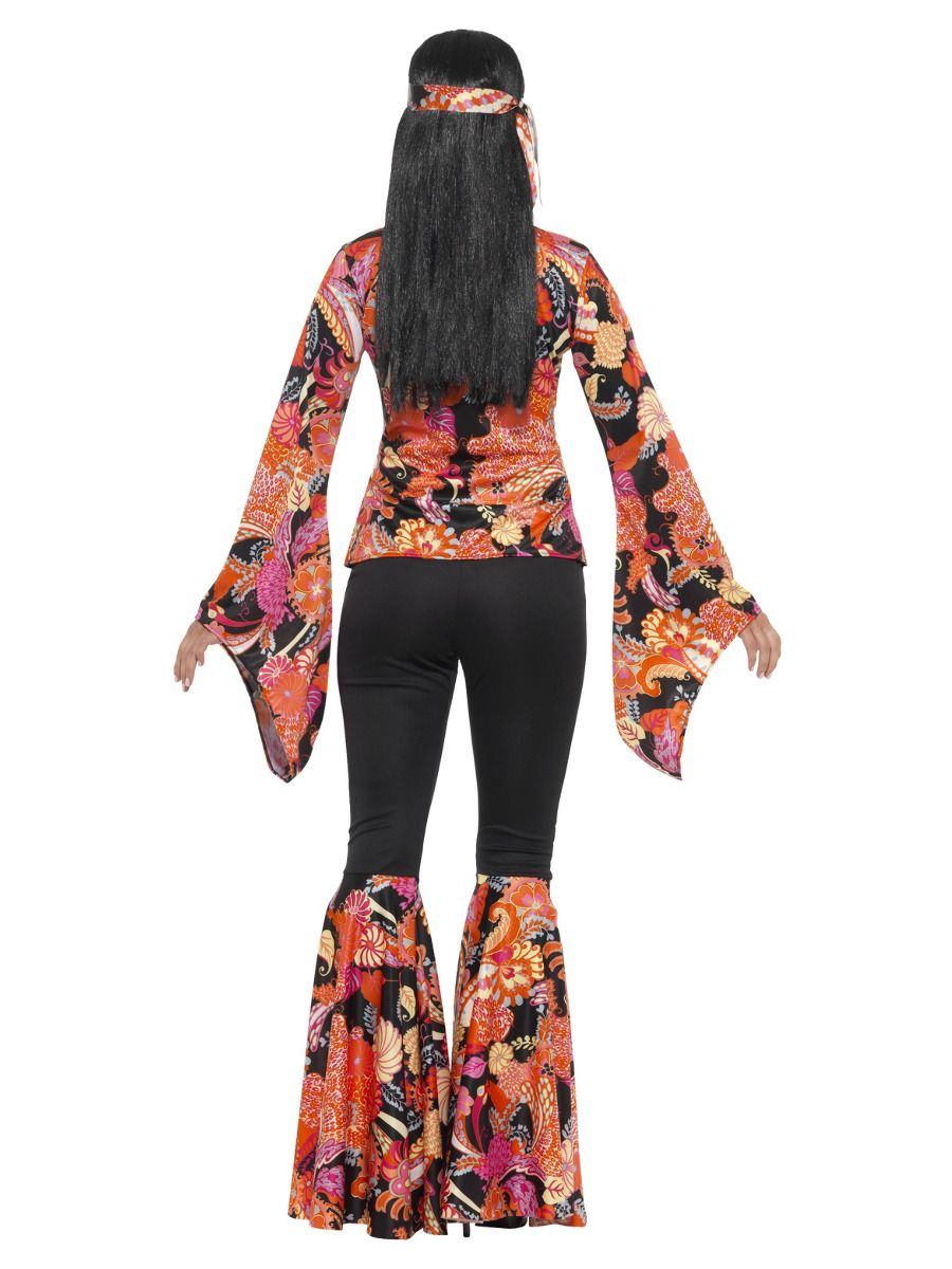 WOMAN/DECADES/1970'S/Willow the Hippie Costume, Multi-Coloured