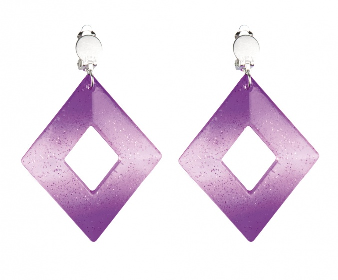 ACCESSORIES/JEWELLERY/ Pair Earrings Rhombus