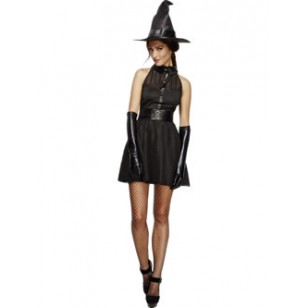 WOMAN/HALLOWEEN/Fever Bewitching Vixen Costume, Black