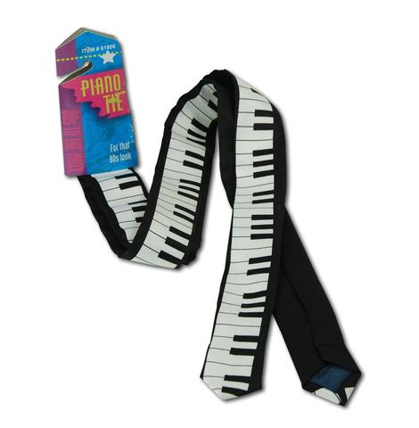 ACCESSORIES/TIES & BRACES/80'S PIANO TIE