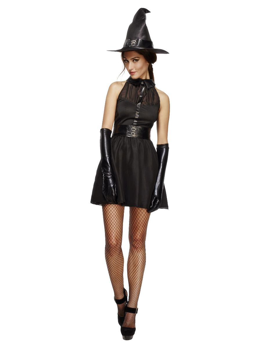 WOMAN/HALLOWEEN/Fever Bewitching Vixen Costume, Black