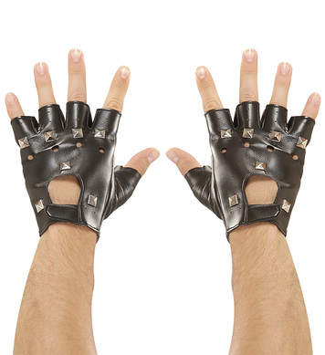 ACCESSORIES/GLOVES&SCARVES/STUDDED LEATHER