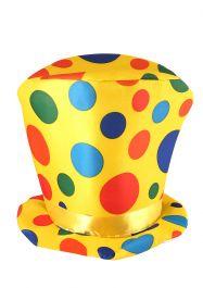 ACCESSORIES/HATS & HEADBANDS/Tall Clown Hat