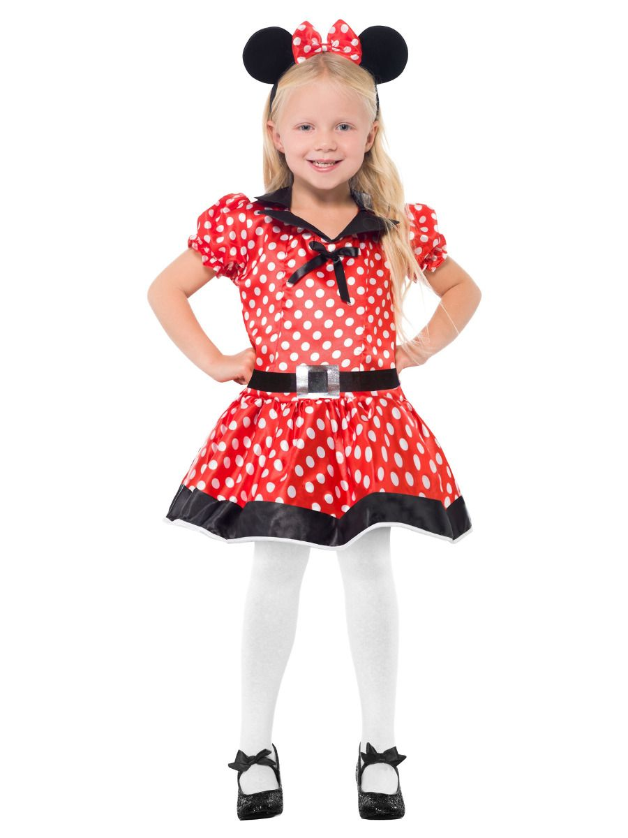 GIRLS/ANIMALS/Cute Mouse Costume, Red