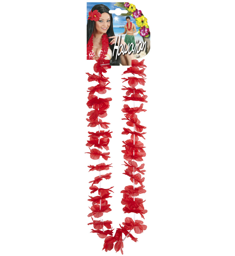 ACCESSORIES/PROPS/HAWAIIAN LEIS - RED