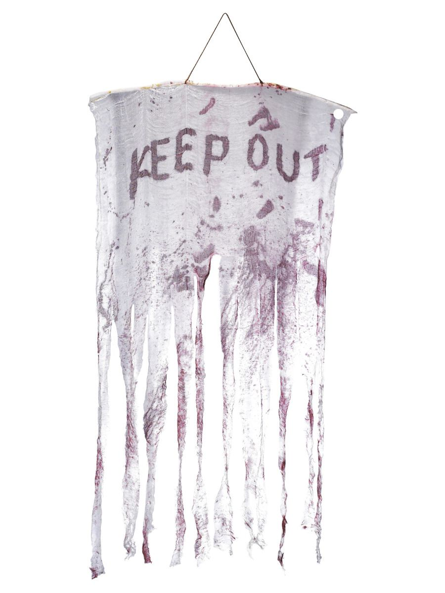 ACCESSORIES/HALLOWEEN/PROPS/KEEP POUT BLOODY HANGING DECORATION