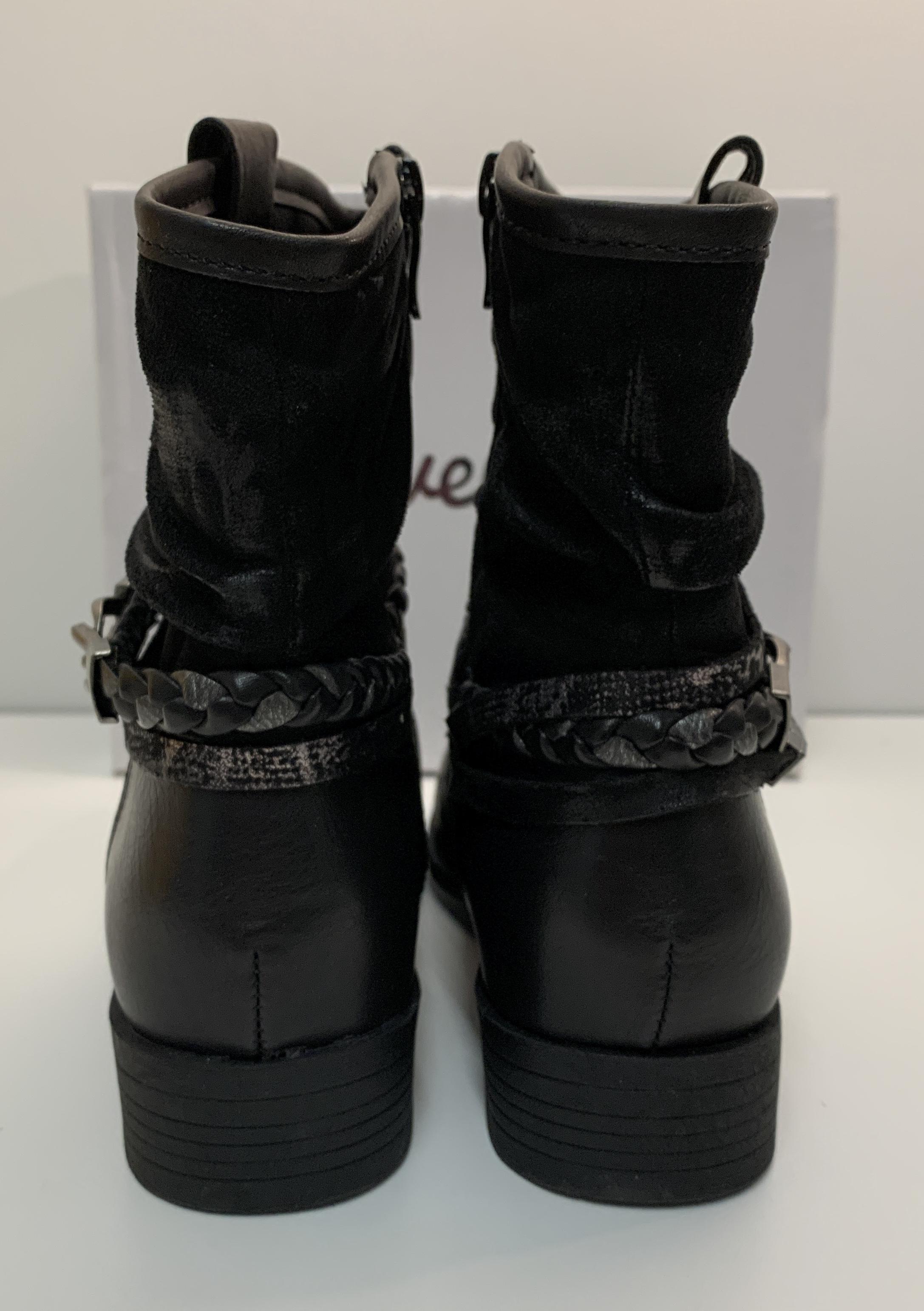 Damen Stiefelette • schwarz • Gr. 38 bis 41