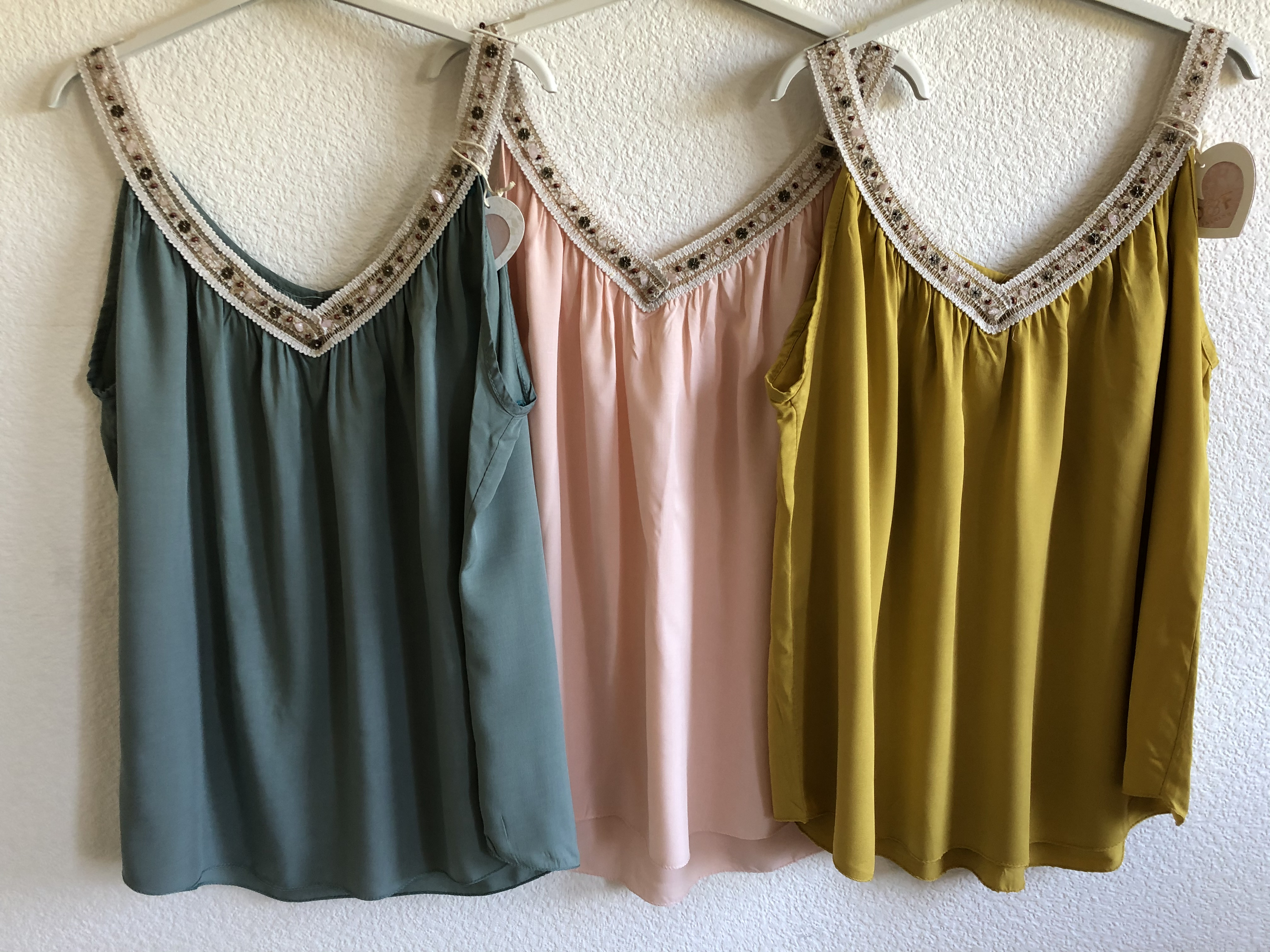Boho Top • One Size bis Gr. 42 • 4 Farben