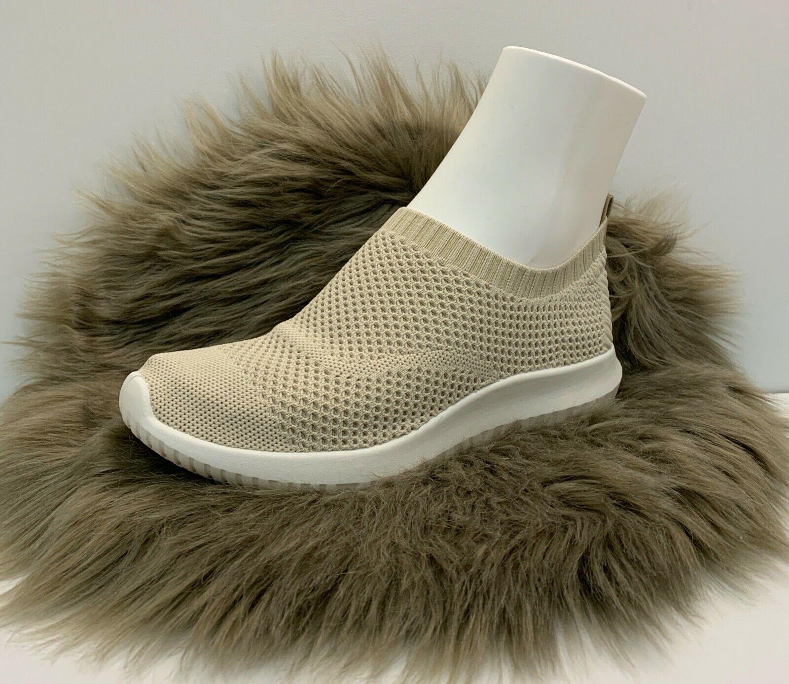 Damen Netz Sneaker beige mit weißer Sohle NEU Gr. 37-41