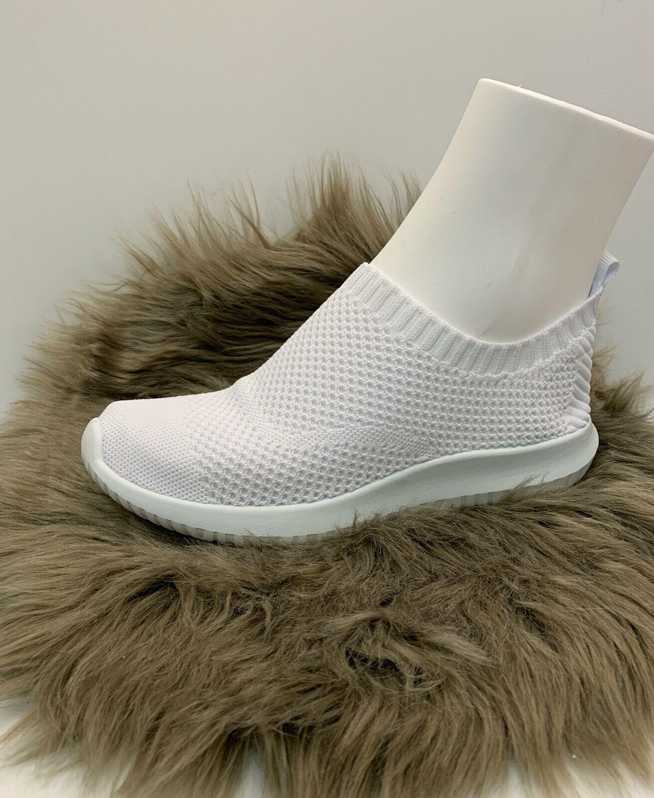 Damen Netz Sneaker weiß mit weißer Sohle NEU Gr. 37-41