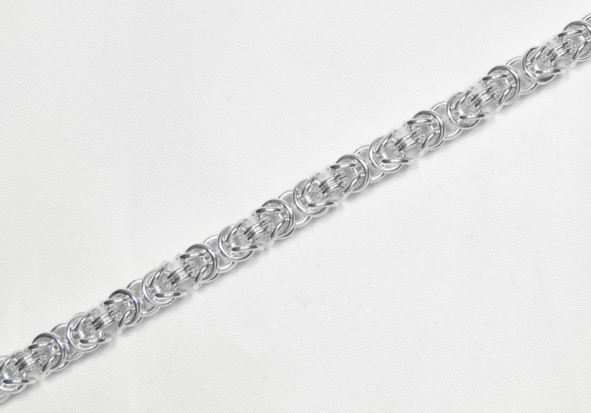 Konge - armbånd sølv