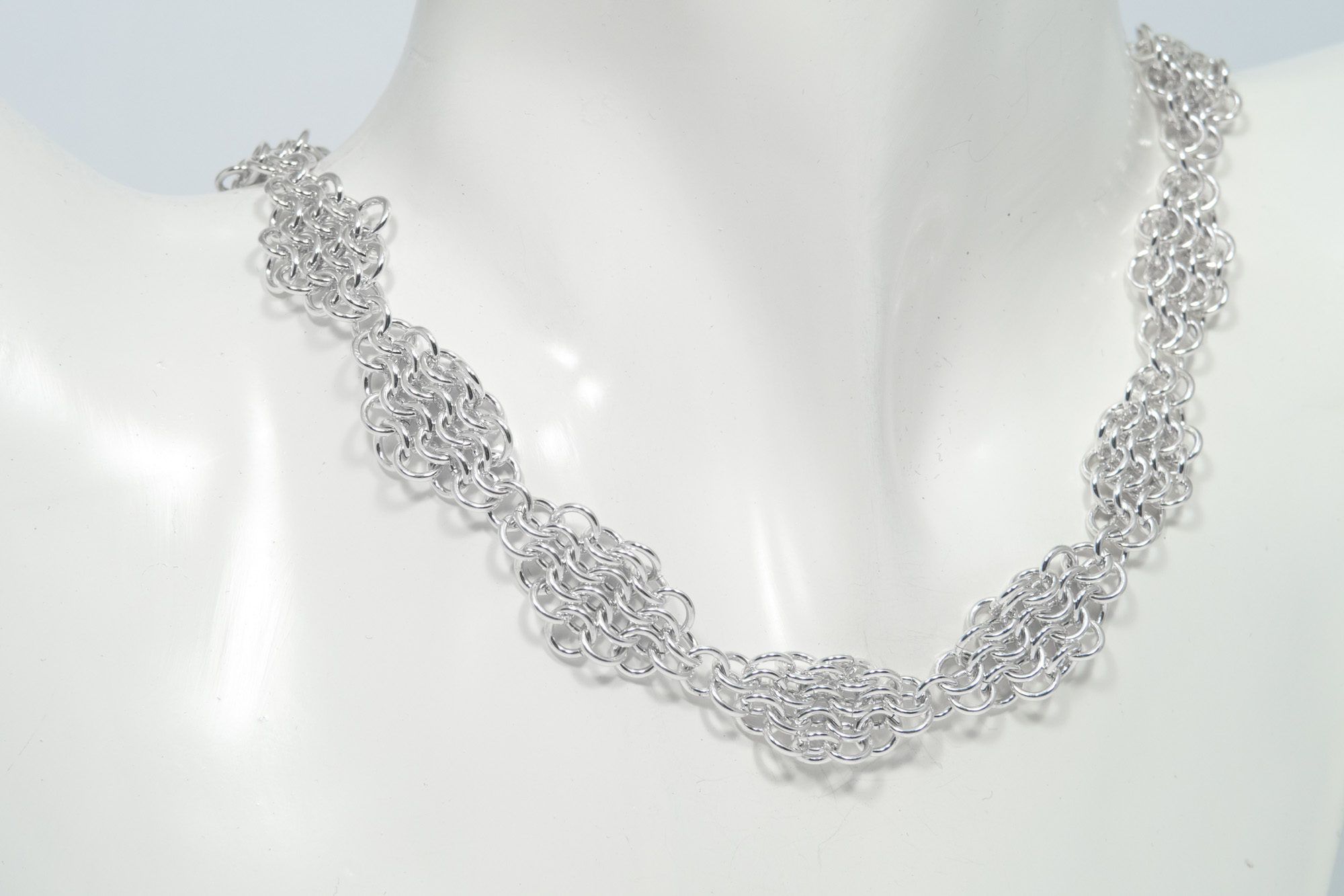 Brynje - kjede sølv