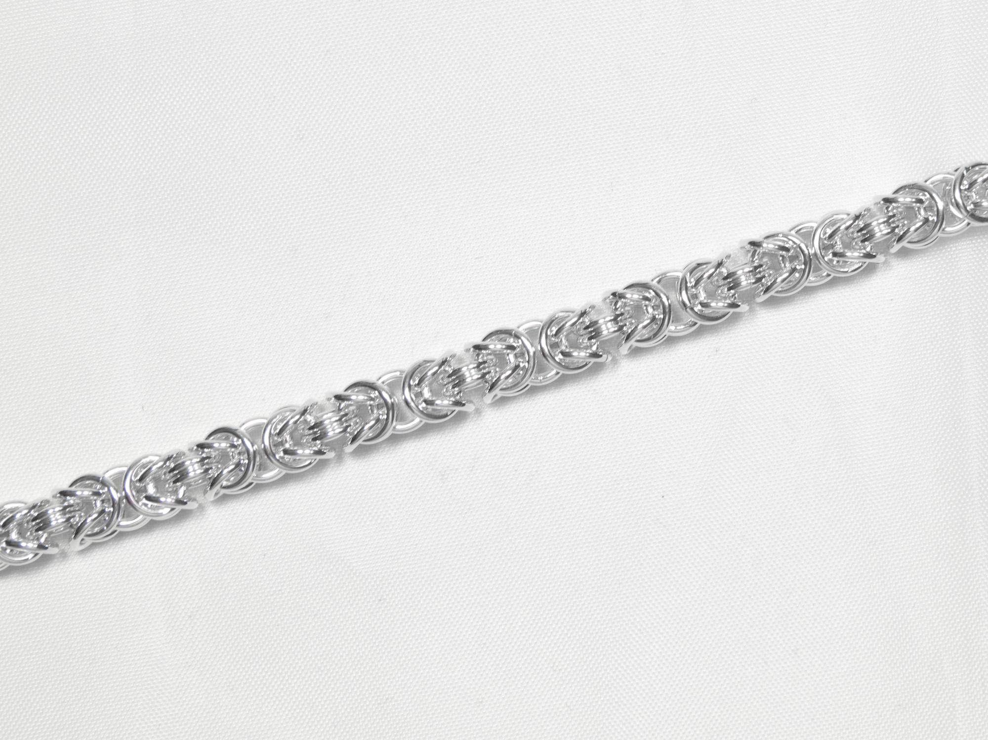 Konge - kjede sølv