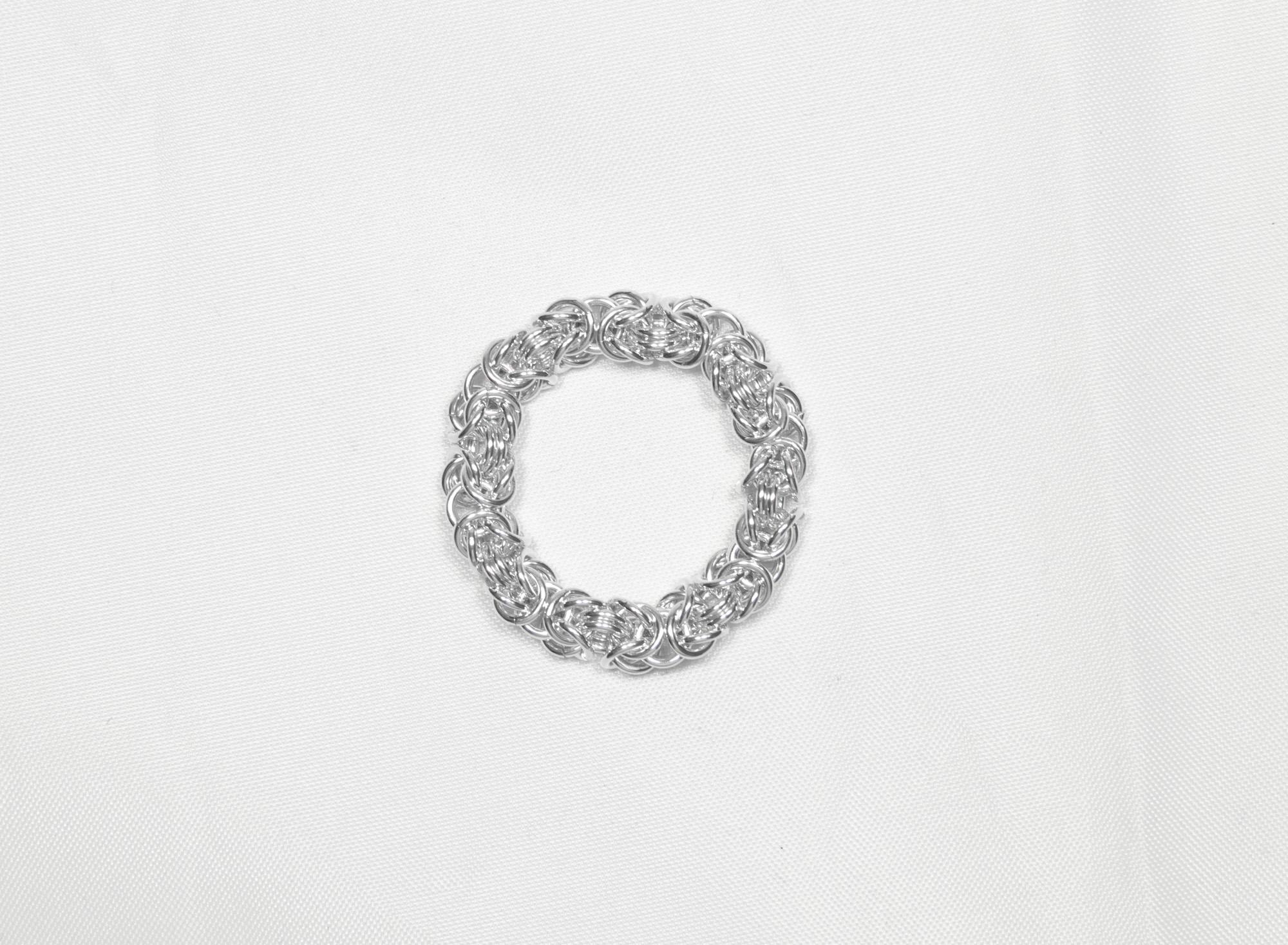 Konge - ring sølv
