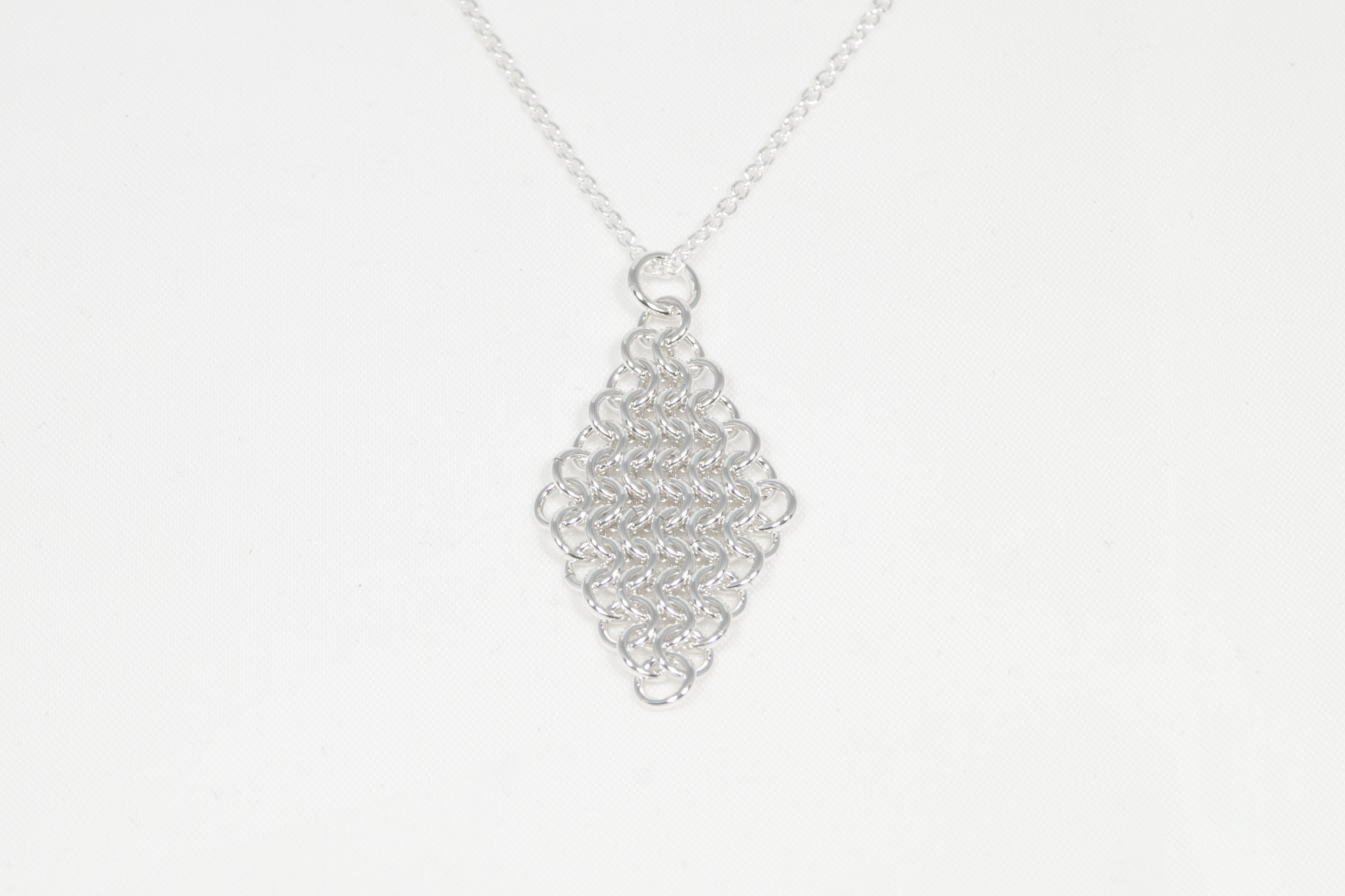 Brynje - anheng sølv