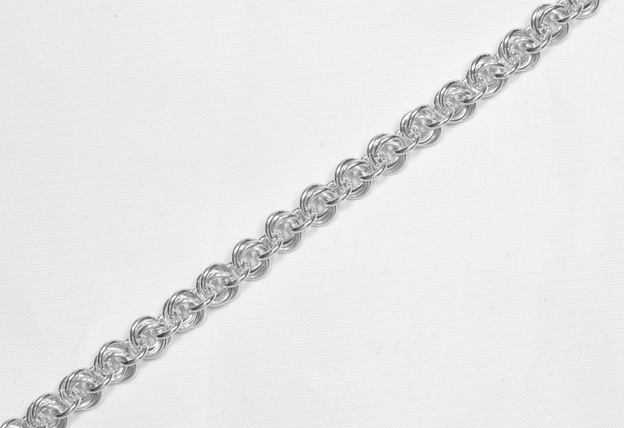 Blomster - armbånd sølv
