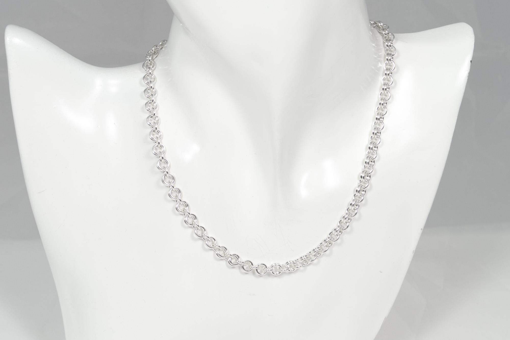 Anker - kjede sølv