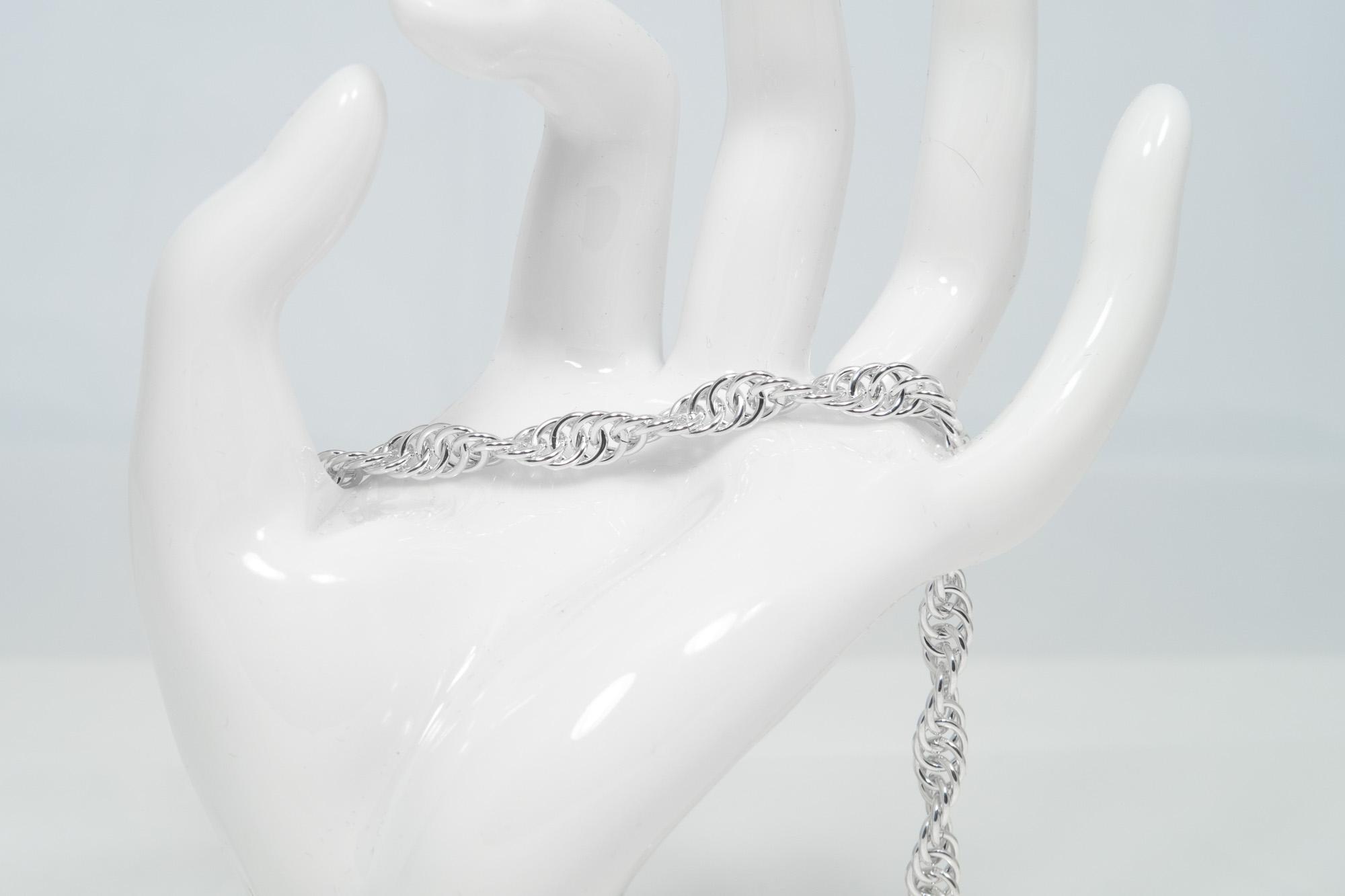 Rep - armbånd sølv