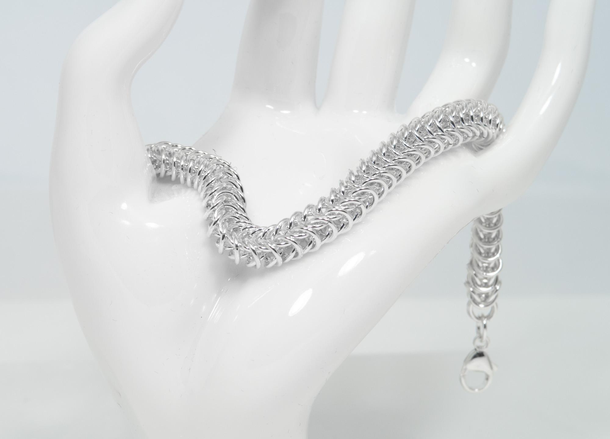 Dronning - armbånd sølv