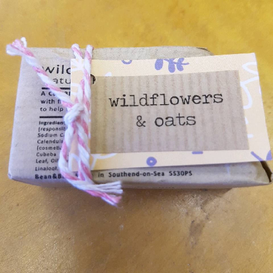Wild Flower and Oats - 40g Soap