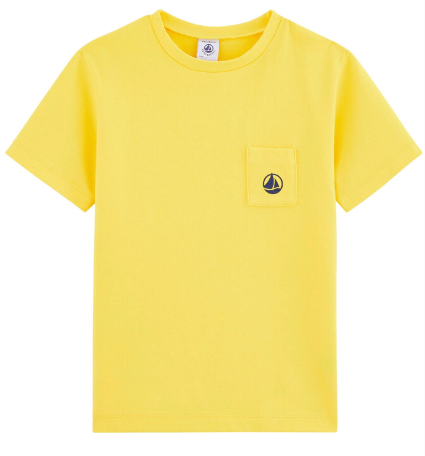 Petit Bateau Boys' Yellow T Shirt