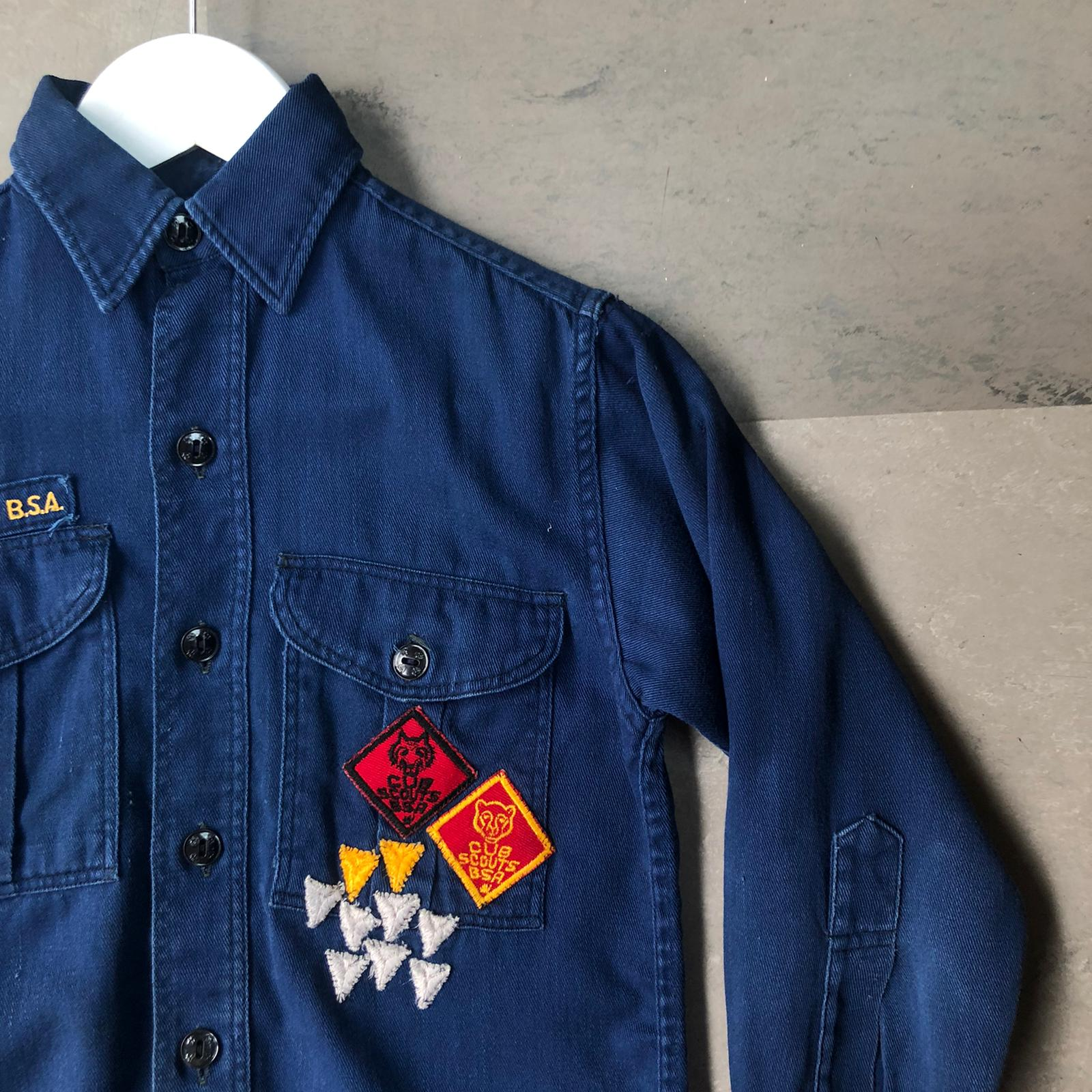 Vintage kids Cub Scout of America shirt- age 7-8