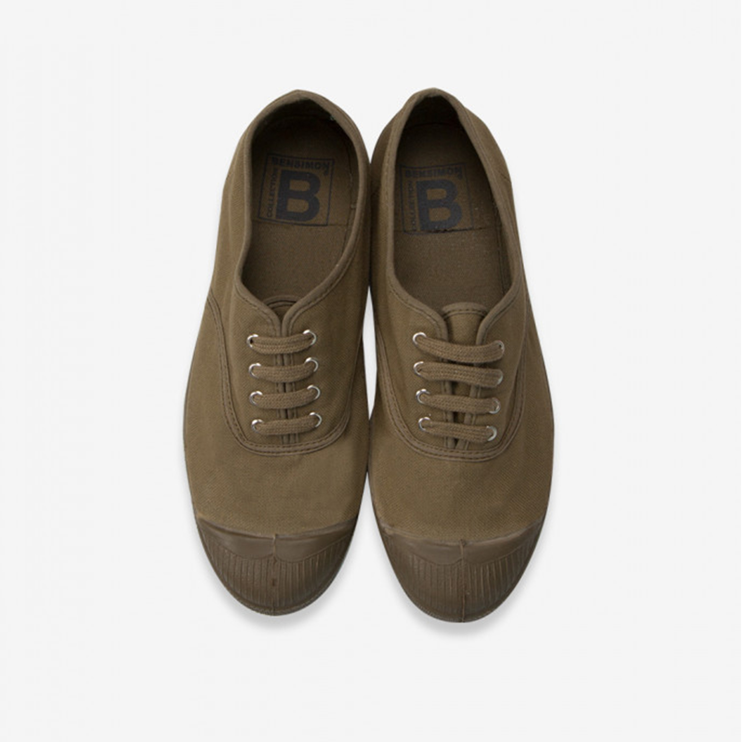 Ben Simon- Tennis shoe- Khaki coloursole
