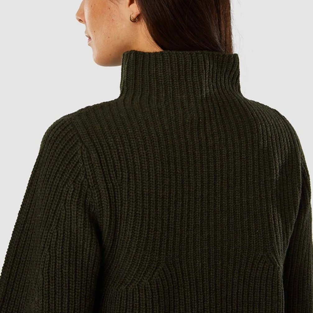 Kings of Indigo Hisa Jumper- Forest Green- ON SALE