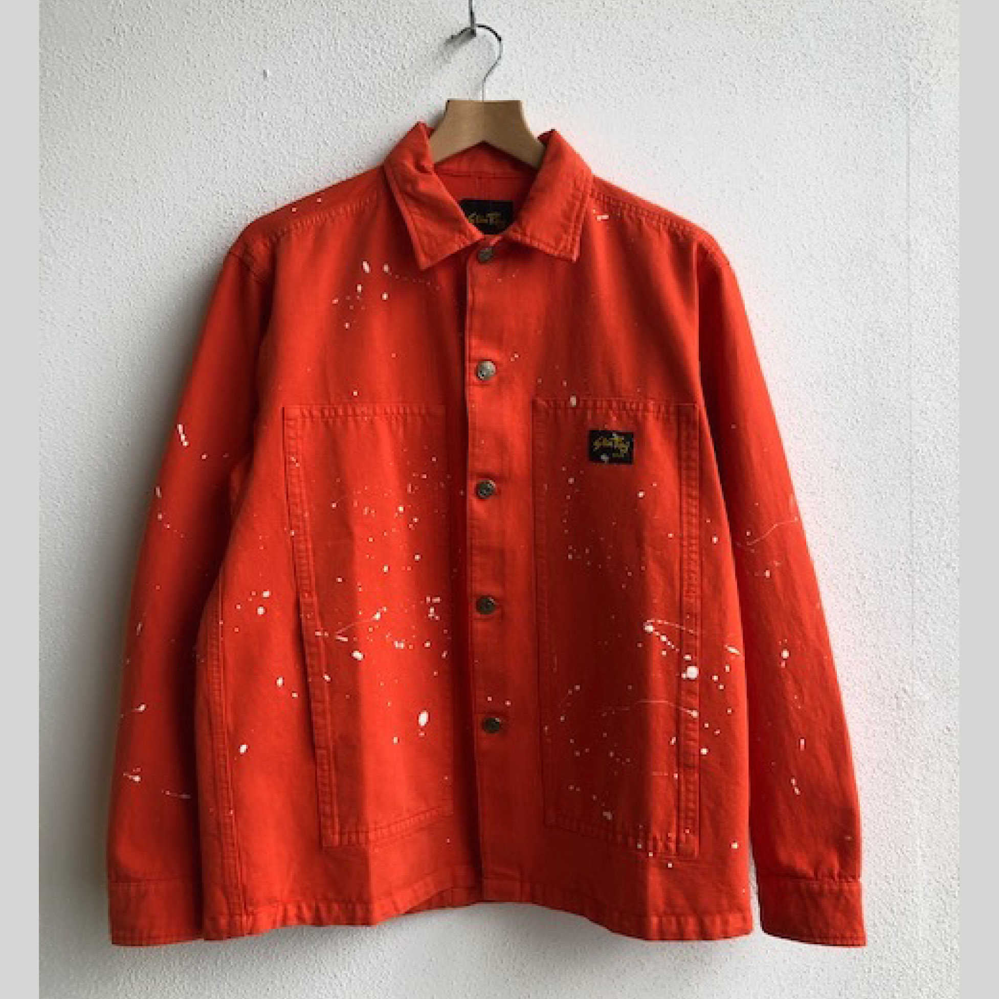 Stan Ray- coral splatter Box jacket- ON SALE