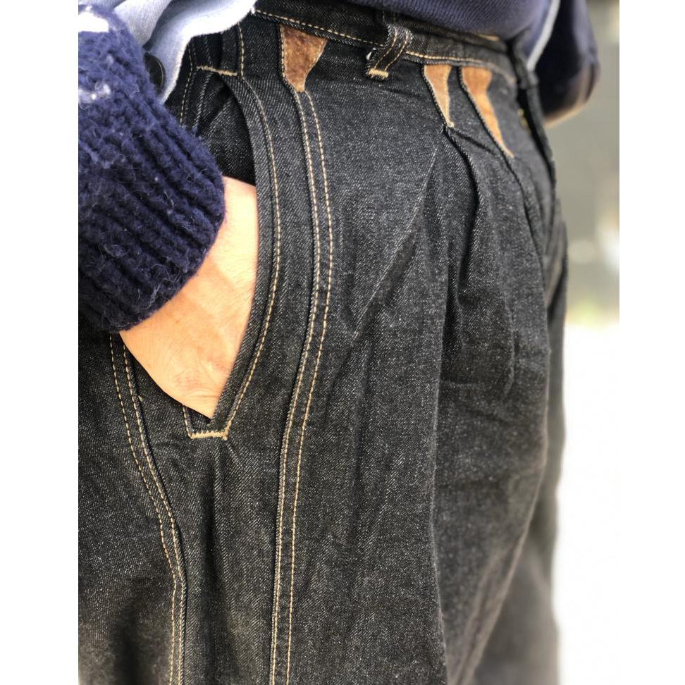Vintage 1990s deadstock black jeans
