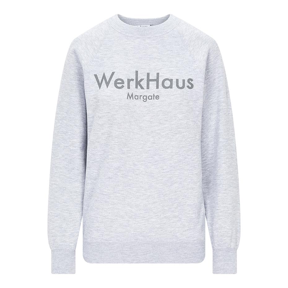 WerkHaus Margate sweatshirt- Grey marl