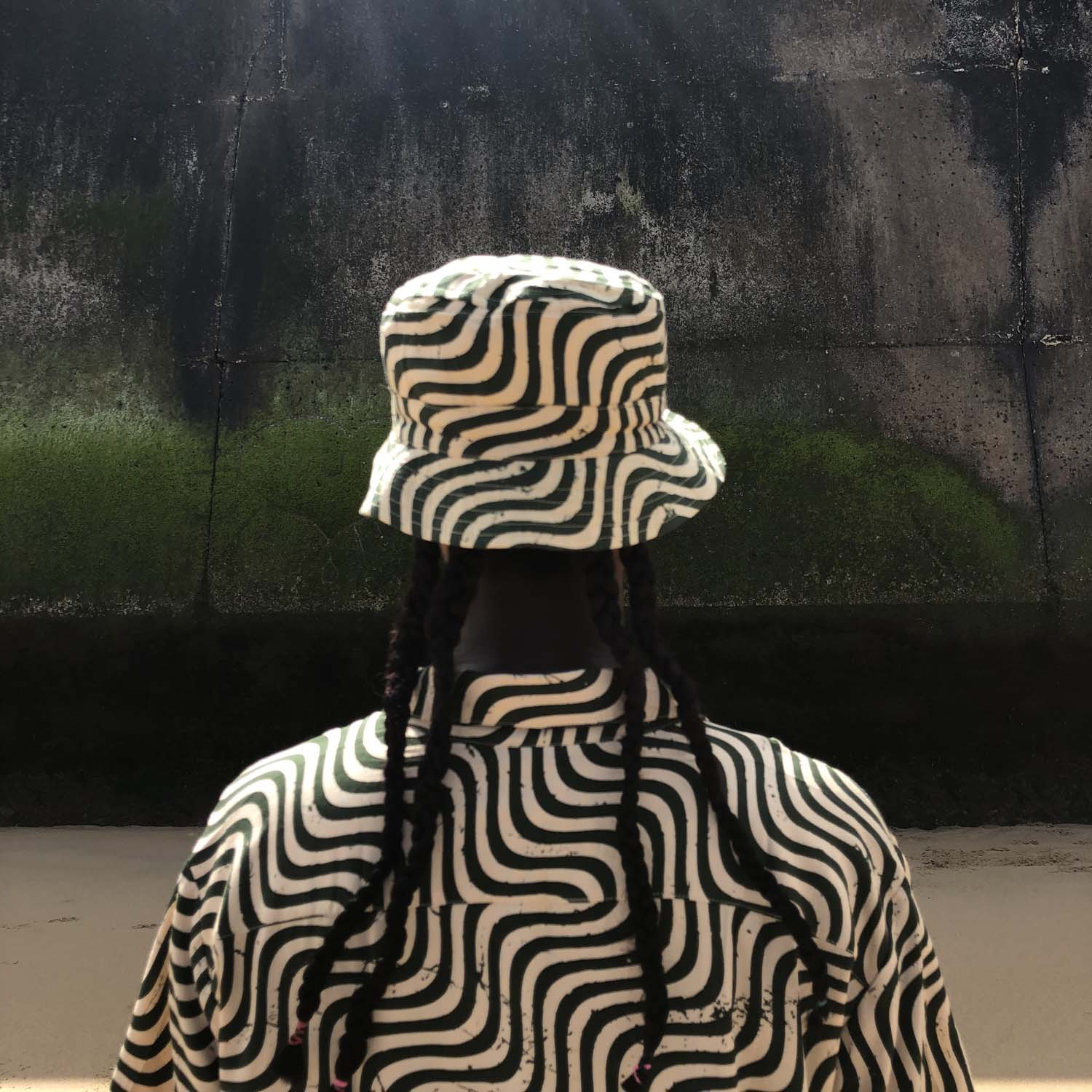 Stan Ray- Bucket Hat- Olive Wave- ON SALE
