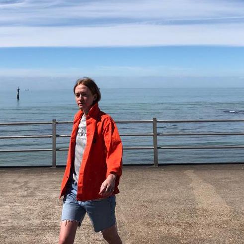 Stan Ray- coral splatter Box jacket- ON SALE