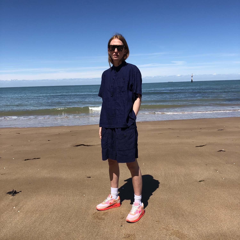 Kings of Indigo- Yuriko shorts- ON SALE