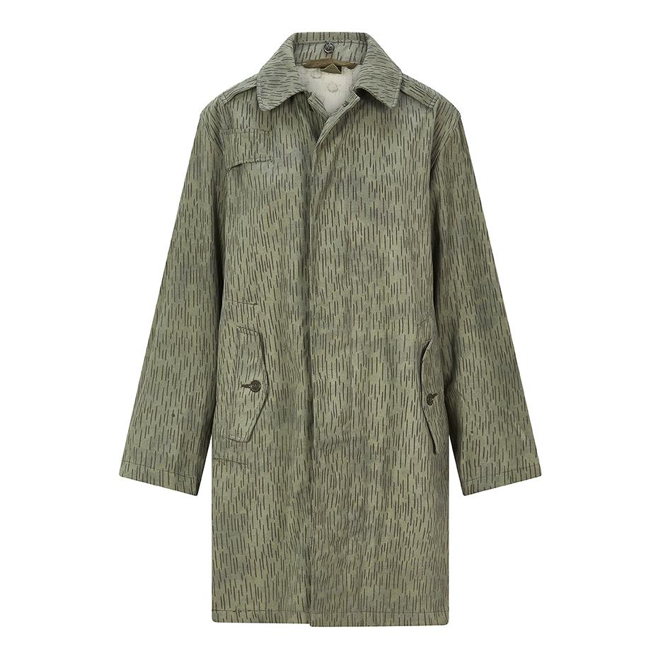 Vintage- Rain Camo- Long coat