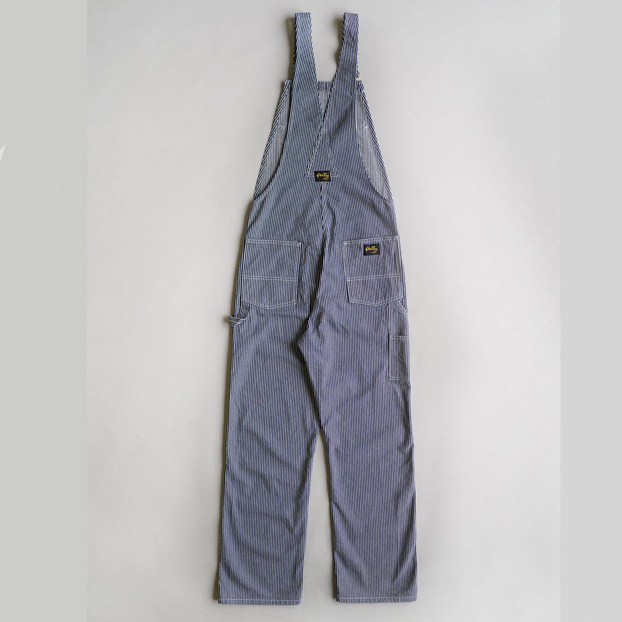 Stan Ray- Hickory stripe Earls Bib dungarees