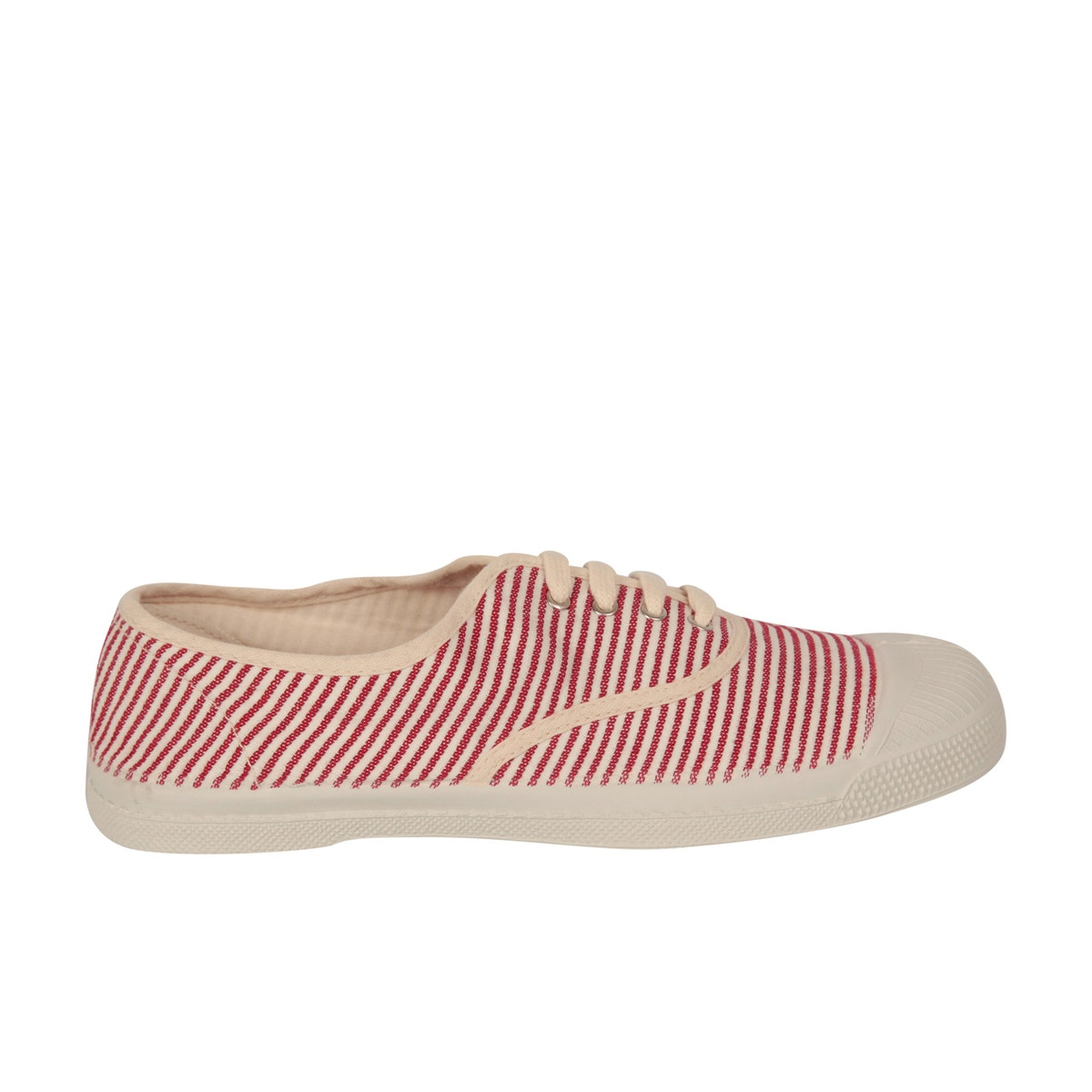 Ben Simon Tennis shoes- Red stripe- ON SALE