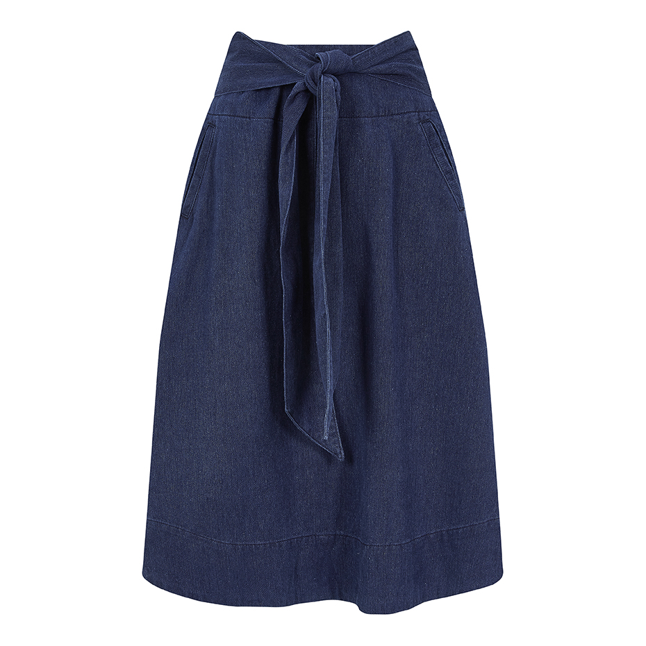 Kings Of Indigo- Nakatsu- Denim skirt- ON SALE
