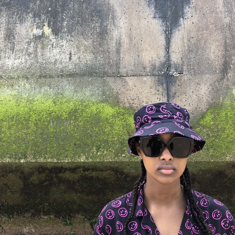 Stan Ray- Kelapa Batik shirt- Pink Smiley